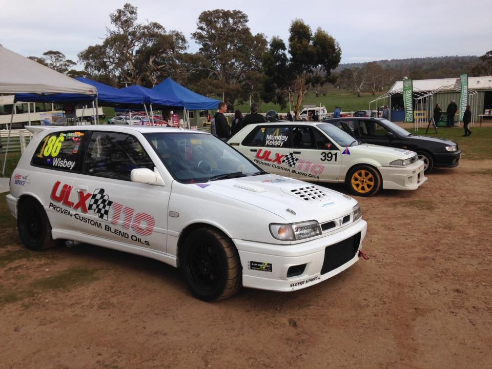 TSA Racing flying the flag for ULX110 this weekend at Collingrove Hillclimb